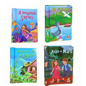 Colecao Clássicos Cintilantes - Livros Infantis - 4 Livros