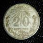 Moneda 20 Centavos 1935 Plata 0,720 Variedad