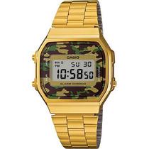 Reloj Casio Retro A168 Estuche Metal Edicion Especial