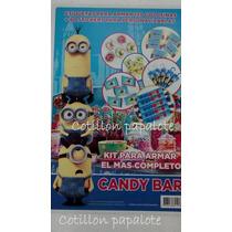 Candy Bar 210 Etiquetas Golosinas Minion Mi Villano Favorito