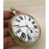 Reloj Antiguo De Bolsillo Despachador Ferroviario Impecable