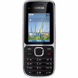 Celular Nokia C2-01 Câmera 3.2mp 3g Mp3 Bluetooth Preto