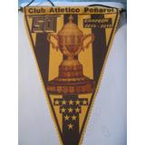 Banderin 50 Campeonatos De Peñarol