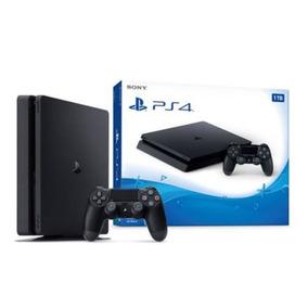 Playstation 4 Ps4 Slim Nueva De 1 Tb - Nuevo Modelo