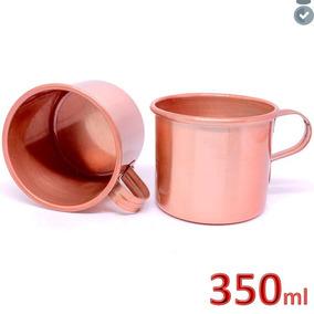Caneca Copo Moscow Mule Alumínio Cobre Drink Coquetel 350ml