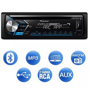 Cd/mp3 Automotivo Com Bluetooth Pioneer Dehs4080bt Iso/rca