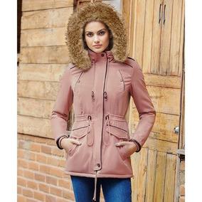 Moda Indie Abrigo Mujer Genial Capucha Peluche 100% Algodon