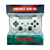 Controle Sem Fio Ps3 Vibração Dual Shock Bluetooth Sony Ps3