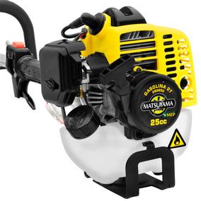 Aparador De Grama Motor A Gasolina 25cc Roçadeira Cortador