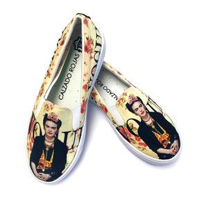 Tenis Zapatos Frida Vogue Calzado Rojas