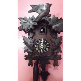Relógio Cuco Origem Germânica 5 Folhas 1 Pássaro