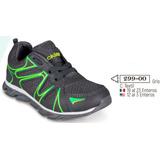 Tenis Cklass Kids&teans Color Gris Con Verde 299-00