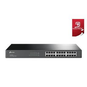 Switch Tp-link 24 Puertos 10/100/1000 Mbps Gigabit Tl-sg1024