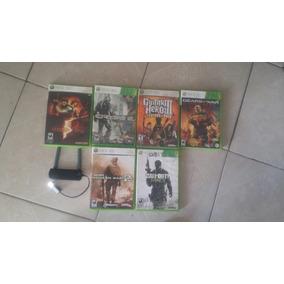 Juegos Xbox 360 Y Antena Wifi