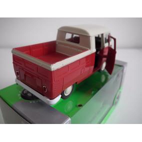 Volkswagen Kombi T1 Double Cabin Pick Up Welly - Escala 1:34