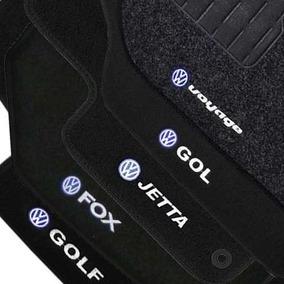 Tapete Carpete Volkswagen Golf Fox Jetta Gol Voyage Preto