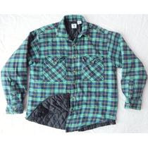 Camisa Camisola Termica Franela Extra Grande Forrada Vintage