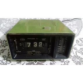 Radio Relógio Antigo Philco E Ford