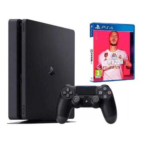 Sony PlayStation 4 Pro 1TB FIFA 20 jet black