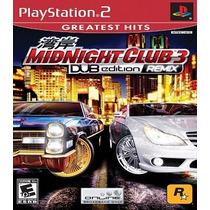 Midnight Club 3 Dub Edition Remix Patch P/ Ps2 Desbloqueado