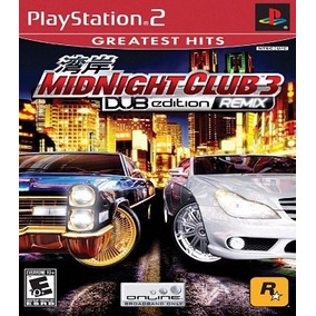 Midnight Club 3 Dub Edition Remix Patch P/ Ps2 Desbloqueado