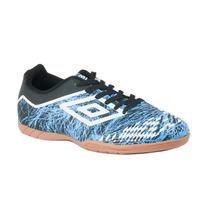 Tênis Umbro De Futsal Indoor Umbro Grass Ii Azul/preto/branc