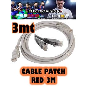 Cable De Red Patch 3 Mt Nuevo Rep Merlo San Luis