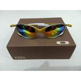 fa8dae9841f7a Oculos Oakley Double 24k Arco-íris +par De Lente + Kit Chavr