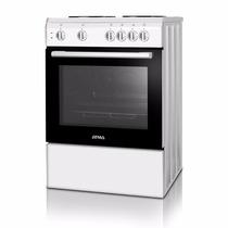 Cocina Electrica Atma 4 Placas Anafes Hornalla Blanco Ce3120