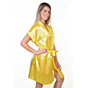 Robe Cetim Feminino Ref.017 - Promoção Preço Baixo   Atacado