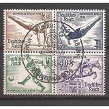Alemania 1936 Cuadro Juegos Olimpicos Usado 49 U$d