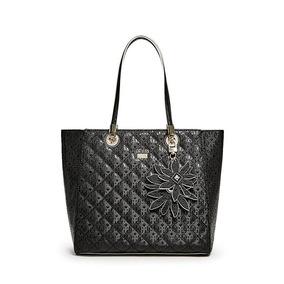 Bolsa Guess Mujer Negra Sq654323 Black Jordyn