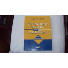 Contabilidade De Custos Para Não Contadores-livro Exercícios