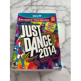 Box Jogo Just Dance 2014 P Wiiu + Remote Control Plus Branco