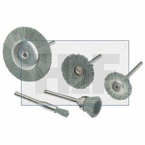 Broca Kit De 5 Cepillos De Acero Inoxidable Sistema Rotatori