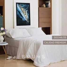Sabanas Damasc Hoteleria 500 Hilos Saten Algodon Twin 90x190