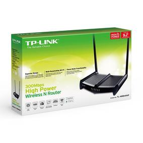 Roteador Tp-link Alto Alcance Tl-wr841hp 300mbps 1000mw