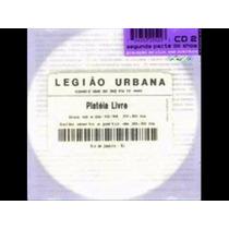Cd Legiao Urbana Plateia Livre Cd 2 Lacrado Original