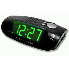 Radio Reloj Despertador Alarma Sleep Snooze Select Sound