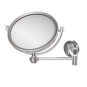 Allied Brass Wm-6/5x-sch 8-inch Wall Mirror With 5x Magnific