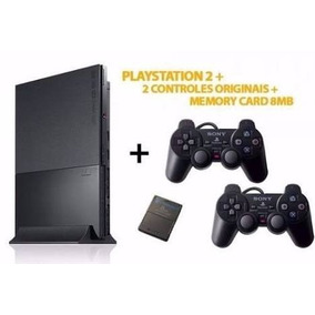Playstation 2 Desbloqueado + 2 Controles + Memorecard