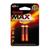 Kodak Pila Alcalina Max 3a Blister X 2 Aaa