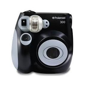 Cámara Instantánea Polaroid 300 Analógica Negra Imprime