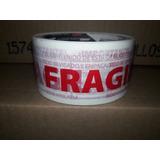 Cinta Adhesiva Impresa Fragil Roja 48x50