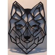 Lobo Figura Impreso 2d