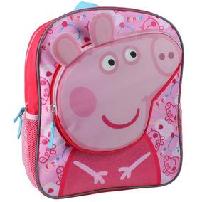 Peppa Pigs Head Mochila De 14 Pulgadas