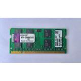 Memoria Portátil Ddr2 2gb 800/6400 Kingston. Compatible Mac