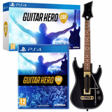 Guitar Hero Live Ps4 Una Guitarra + Juego Fisico Ps4 Oferta!