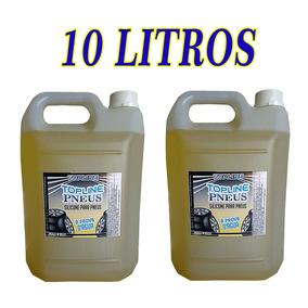 Silicone Liquido Para Pneus Top, 7 Dias Pretinhos 10 Litros