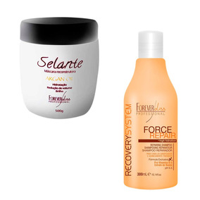 Argan Oil Selante Termico E Shampoo Force Repair Home Care
